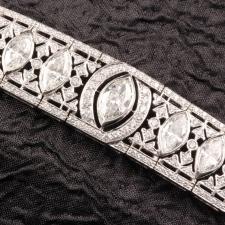 Diamond Marquise Shape Bracelet